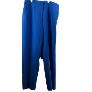 Hugo Hugo Boss Wide Leg Dress Pants Blue 36 X 33
